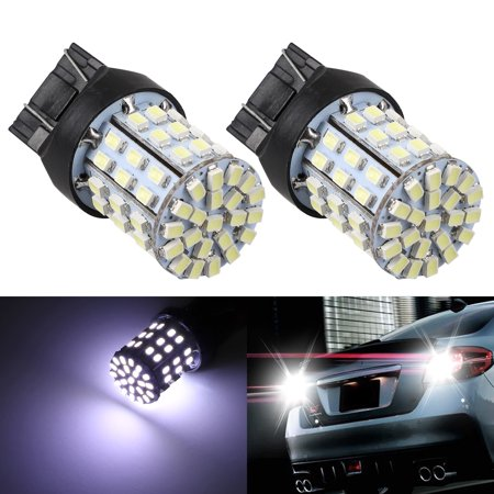 TSV 12V Super Bright Low Power 7440 7443 T20 LED Bulbs with Projector Replacement for Back Up Reverse Lights or Tail Brake Lights,Xenon White