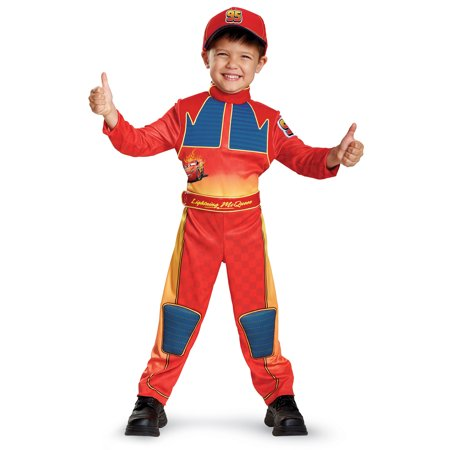 LIGHTNING MCQUEEN DEL TODDLER - Lightening Mcqueen Costume