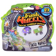 The Trash Pack Trash Wheels Skid Markz Blister, 2 Pack