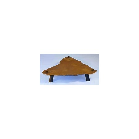 6 in. Fire Pit Display Stand in Natural Rust Patina - Accessories ()