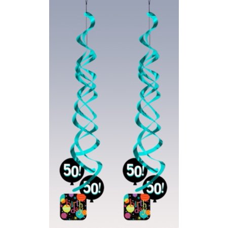 50 Birthday Decorations (Life is Great: 50 Dangling Happy Birthday Party)