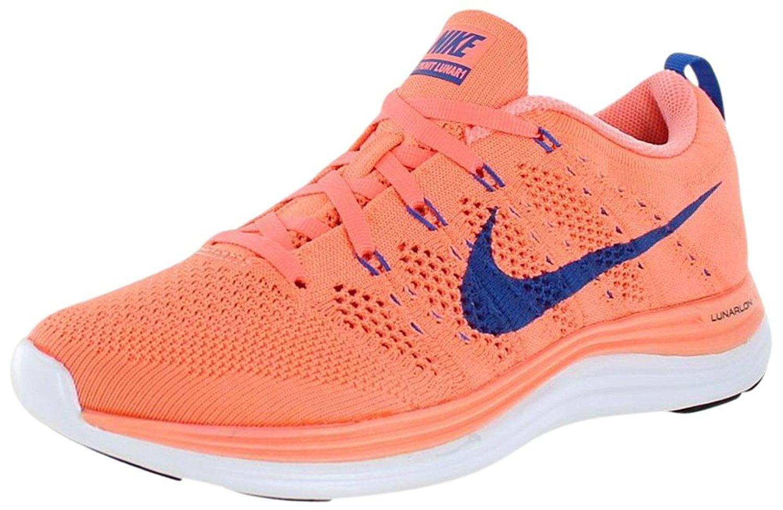 Nike Lunar1, Women's Wmns Flyknit Lunar1, Nike ATOMIC PINK /GAME ROYAL-WHITE c39ee5
