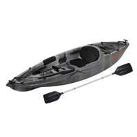 Ozark Trail 10' Sit-on-top Angler Kayak Gray Swirl, Paddle Included