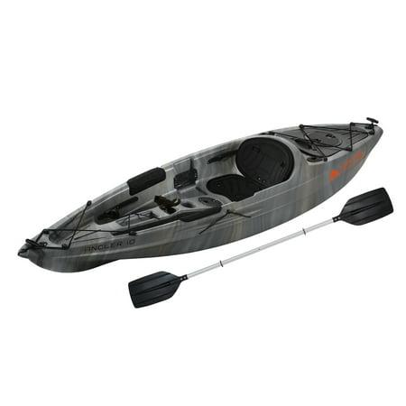Ozark Trail 10' Angler Kayak Gray Swirl