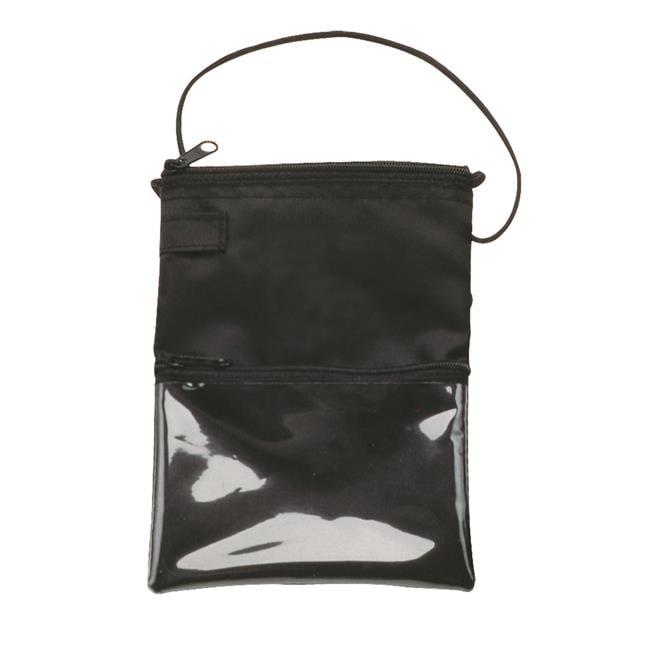 Debco N1643 Money Pouch Identification Holder / Wallet - Black  - 12 Pack - image 1 de 1