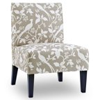Donovan Bardot Upholstered Accent Chair Multiple Colors