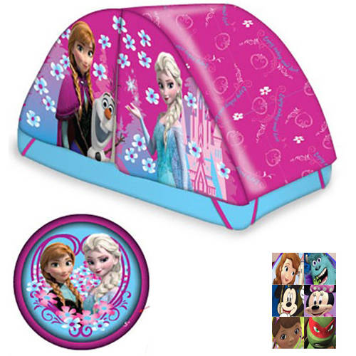 Frozen Bed Tent with Pushlight  sc 1 st  Walmart : twin bed tent walmart - memphite.com