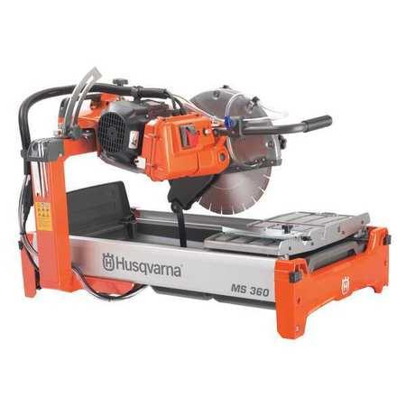 Masonry Saw, 1.5 HP, Wet, 132 lb.,115V HUSQVARNA 967285201