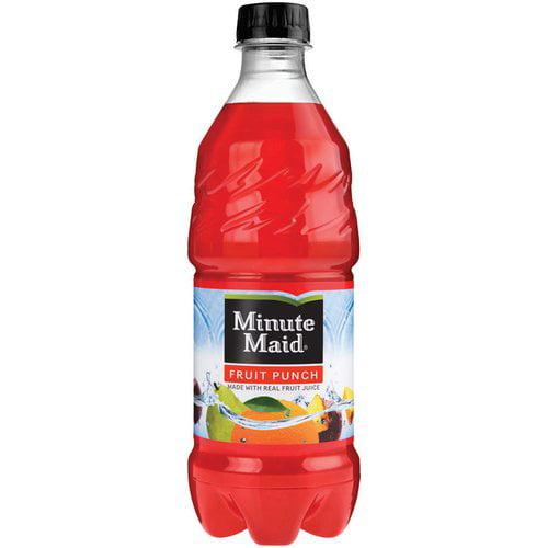 Minute Maid Fruit Punch, 20 fl oz