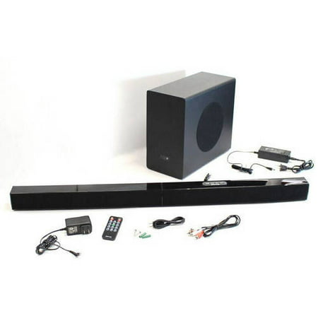 2.1-Channel Wireless Home Theater System with 37″ Soundbar and Bluetooth