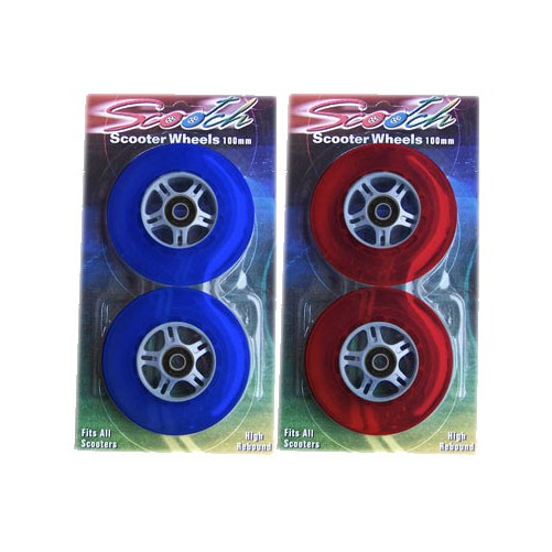 4 Wheels Blue & Red With Bearings  RAZOR KICK SCOOTER