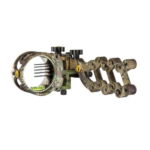 Trophy Ridge 135540 React 5 Pin Bow Sight in Camo - Right Hand