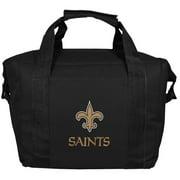New Orleans Saints Logo Kooler Bag - Black - No Size