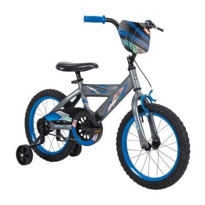 "Huffy Whirl 16"" Kids' Bike - Gray/Blue"