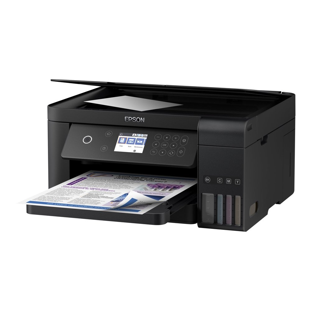 Epson Expression ET-3700 EcoTank Wireless Color All-in-One Supertank Printer with Scanner, Copier and Ethernet