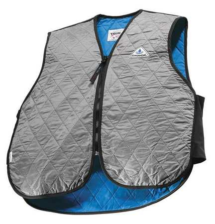 TECHNICHE 6529-SILVER2XL Cooling Vest, 2XL, Silver, Nylon