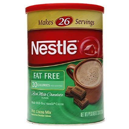 Nestle Hot Cocoa Fat Free Canister 7.33 oz by Nestle