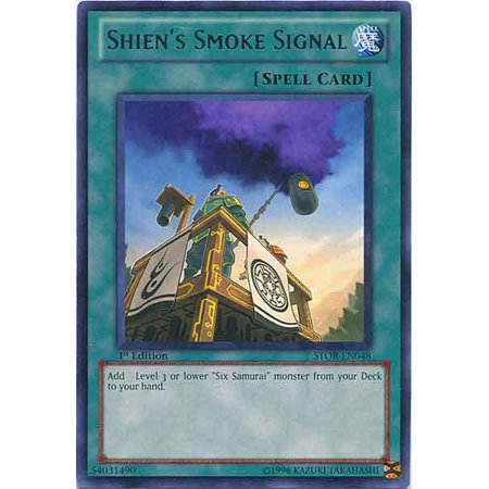 Ragnarok Single Card - YuGiOh Storm of Ragnarok Shien's Smoke Signal STOR-EN048