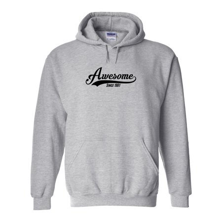 Awesome Since 1961 Hoodie - ID: 1005