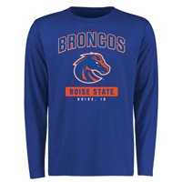 Boise State Broncos Campus Icon Long Sleeve T-Shirt - Royal