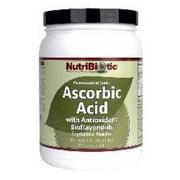 Ascorbic Acid Powder with Bioflavonoids Nutribiotic 2.2 lbs Powder