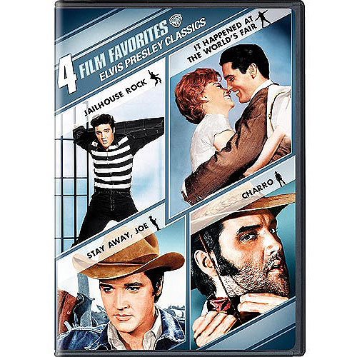 4 Film Favorites: Elvis Presley Classics Jailhouse Rock   It Happened At The World's Fair   Stay Away, Joe  ... by