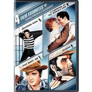 4 Film Favorites: Elvis Presley Classics Jailhouse Rock   It Happened At The World's Fair   Stay Away, Joe   Charro... by
