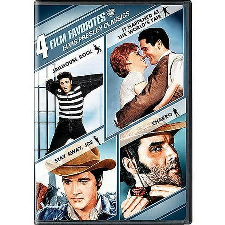 4 Film Favorites: Elvis Presley Classics - Jailhouse Rock / It Happened At The World's Fair / Stay Away, Joe / Charro (Widescreen)