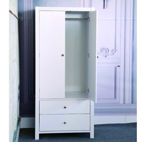 Exceptionnel Alcott Hill Astaire Commodious 2 Drawer Wardrobe Armoire