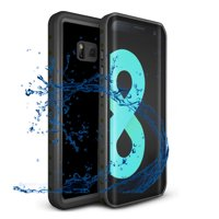 Samsung Galaxy S8 IP68 Waterproof Case,Alcase 9.8ft Underwater Shockproof Heavy Duty Dirtproof Full Sealed Case Cover for Samsung Galaxy S8 - Black