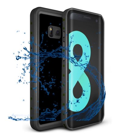 super popular 9d2fc 52a23 Samsung Galaxy S8 IP68 Waterproof Case,Alcase 9.8ft Underwater Shockproof  Heavy Duty Dirtproof Full Sealed Case Cover for Samsung Galaxy S8 - Black