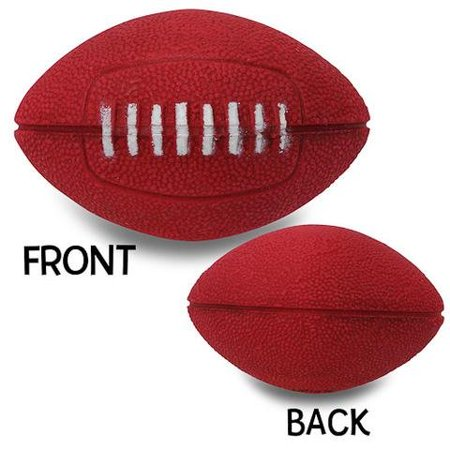Quantity 3 pcs - Coolballs Cool Red Football Ball Car Antenna Topper /  Antenna Ball
