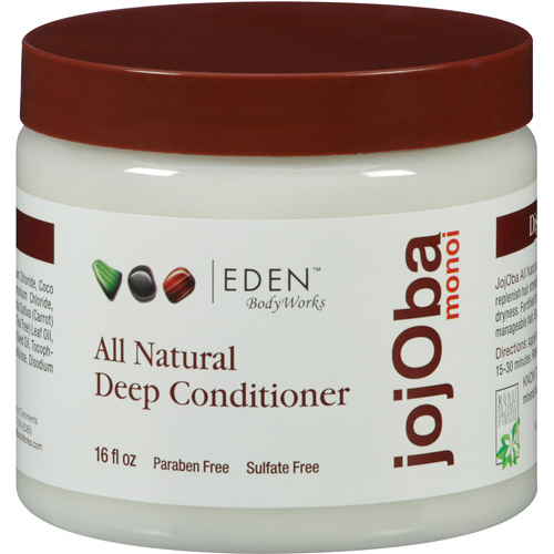 EDEN BodyWorks JojOba Monoi All Natural Deep Conditioner, 16 fl oz