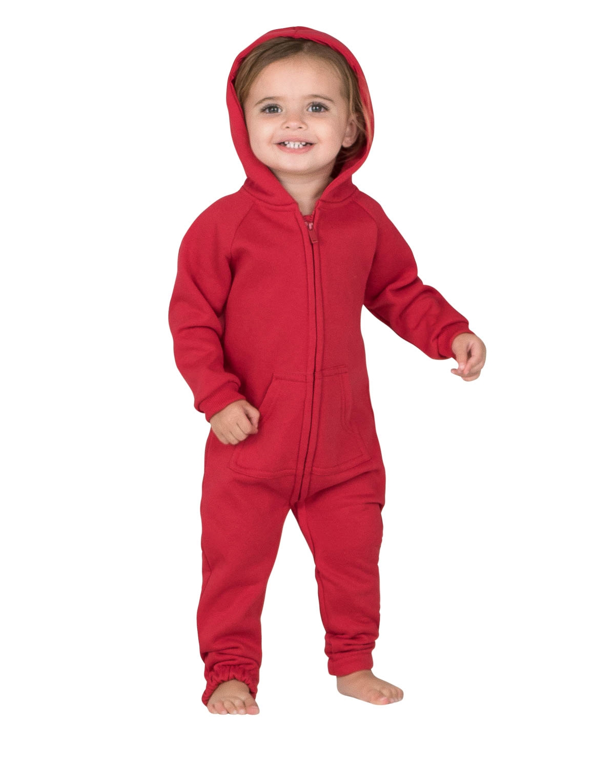 245f2b4c8 Footed Pajamas Red Infant Footless Hoodie One Piece Large on PopScreen
