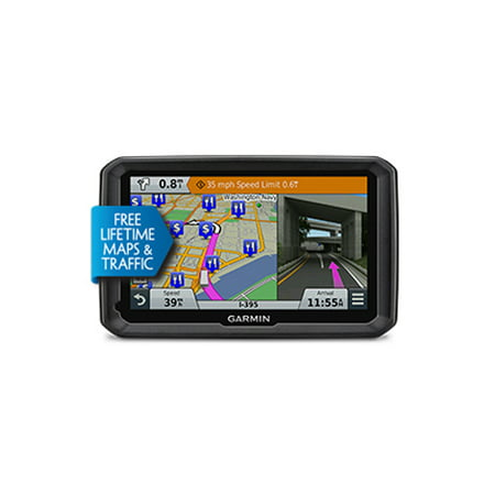 Refurbished Garmin dezl 770LMTHD (North America) 7 Inches Bluetooth Portable Navigator w/ Free Lifetime Maps & HD Traffic Updates](garmin dezl 760lmt 7 inch bluetooth trucking gps)