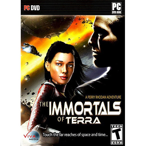 The Immortals of Terra: A Perry Rhodan Adventure PC DVD-Rom - Touch the Far Reaches of Space and Time...