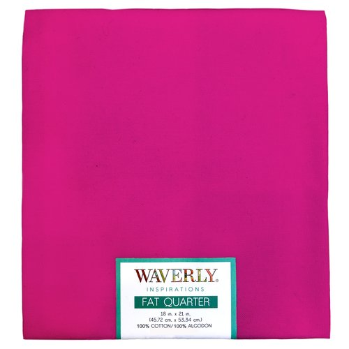 "Waverly Inspiration Fat Quarter ONYX 100% Cotton, Solid Fabric, Quilting Fabric, Craft fabric, 18"" by 21"", 140 GSM"