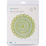 Lifestyle Crafts Nesting Dies, Lace Circles, 7 Dies