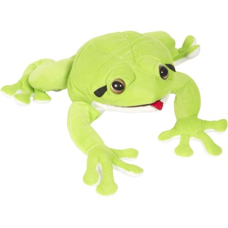 Sunny NP8214 12 In. Frog - Whites Tree Puppet