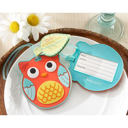 Owl Be Seeing You - Owl Luggage Tag