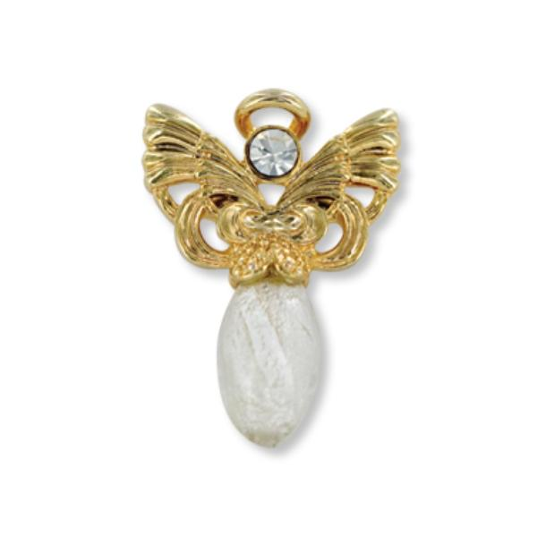 Ddi Wings And Wishes Believe Angel Pin (pack Of 28)