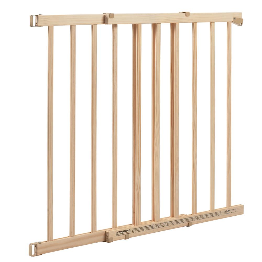 """Even Flo Best For Baby 1050500 32"""" Wood Walk Thru Baby Gate"""