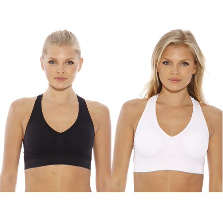 Just Intimates Racerback Sports Bra (Pack of 2)