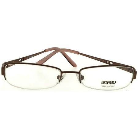 Bongo BG0017-CALLY-D96-49 Women's Brown Frame Clear Lens Genuine Eyeglasses NWT