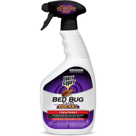 Hot Shot Bed Bug Killer with Egg Kill, Ready-to-Use, 32 fl (Best Diatomaceous Earth For Bed Bugs)