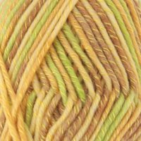 Chunky Melody Medium Weight Yarn - Parrot - 70% Wool 30% Polyester Blend - 100g/skein