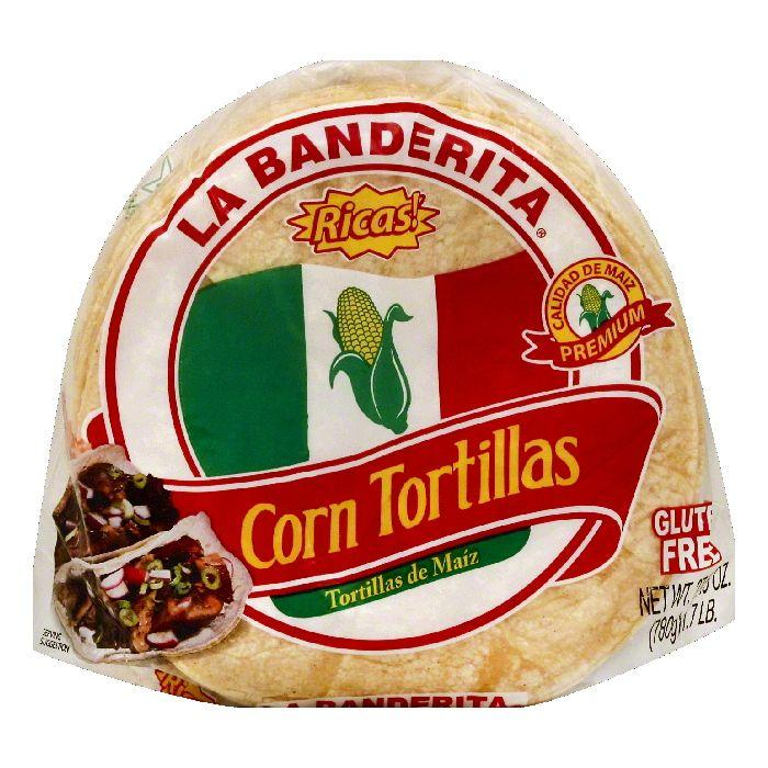 La Banderita Corn Tortillas, 27.5 OZ (Pack of 12)