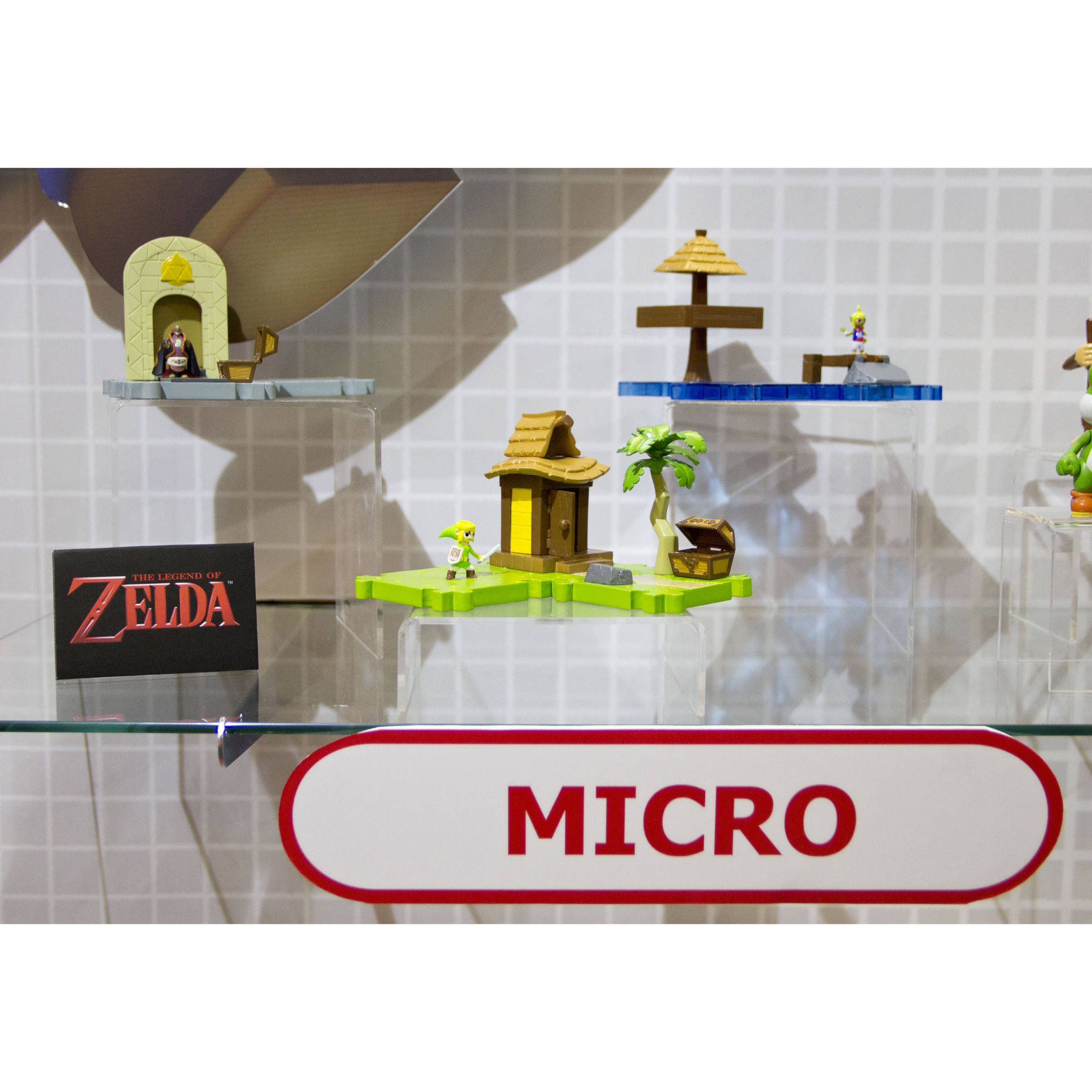 Micro Figure 3-Pack, Link Island/Village theme
