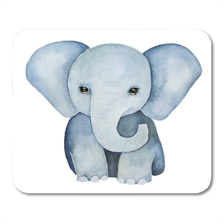 LADDKE Cute Little One Baby Elephant Painting Huge Ears Lovely Eyes Mousepad Mouse Pad Mouse Mat 9x10 inch](Huge Eyes)