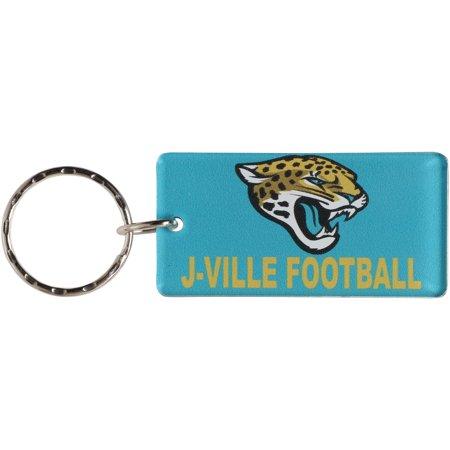 Jacksonville Jaguars Laser Cut Xpression Logo Keychain Jacksonville Jaguars Keychain
